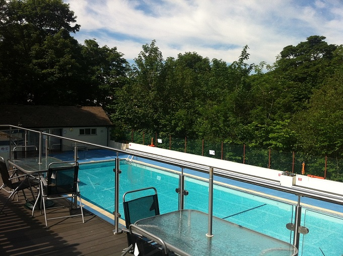 Open Air Swimming Pool For Children Acorn Cottage