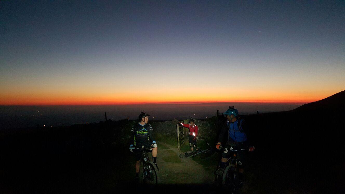 Mountain Biking up Ingleborough