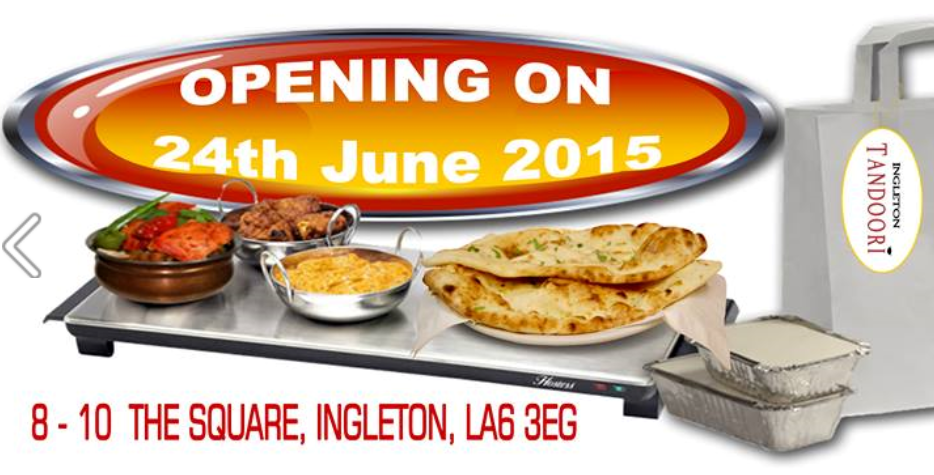 Indian takeaway & restaurant has opened in Ingleton