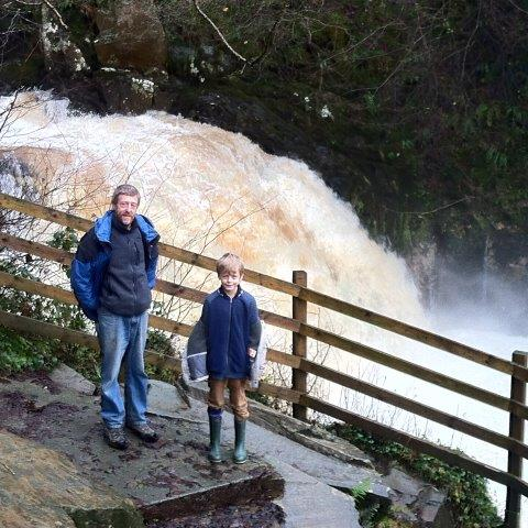 Ingleton Waterfalls – one of five best waterfalls in the UK according to the Guardian.