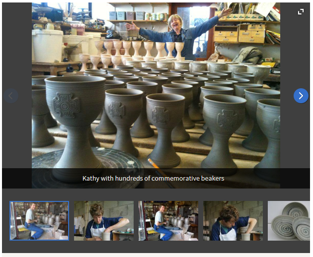 Bentham Pottery in the headlines