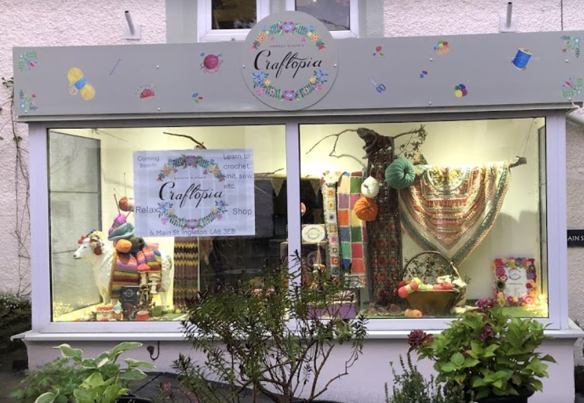 Craftopia craft shop opens in Ingleton